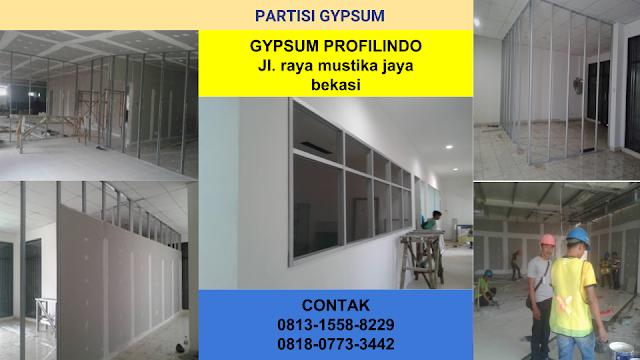 Pasang Plafon Gypsum Dan Baja Ringan CALL 0813 1558 8229