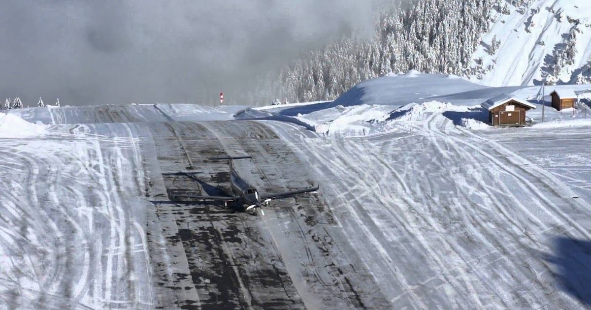 The Most Dangerous Landing In The World  Snow Addiction
