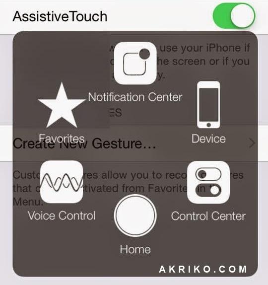 Cara Menampilkan Tombol Home Melayang di iPhone