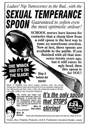 Sexual Temperance Spoon