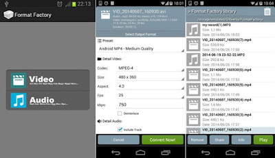 Format Factory Apk For Andoid v1.7 Terbaru