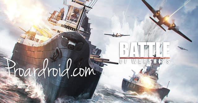 لعبة السفن القتالية Battle of Warships v1.66.13 مهكرة كاملة للأندرويد (اخر اصدار) logo