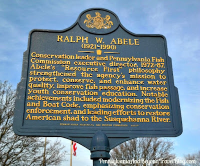 Ralph W. Abele Historical Marker in Harrisburg Pennsylvania