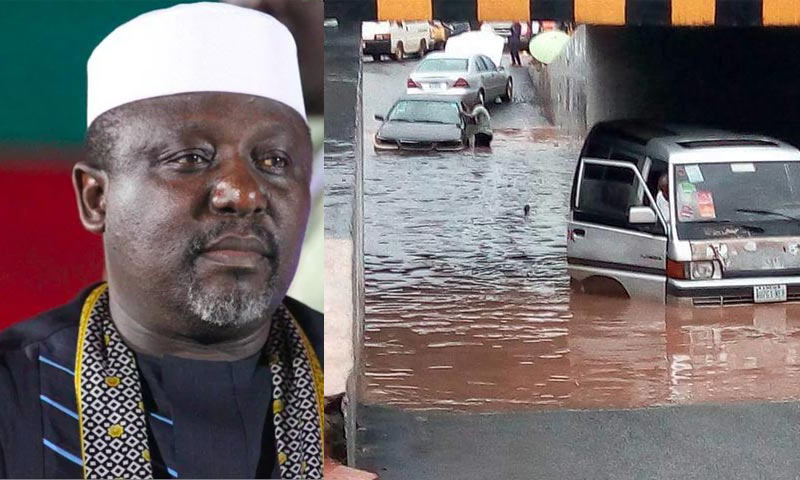 Rochas praises contractor behind Concord Junction tunnel, blames flooding on rain