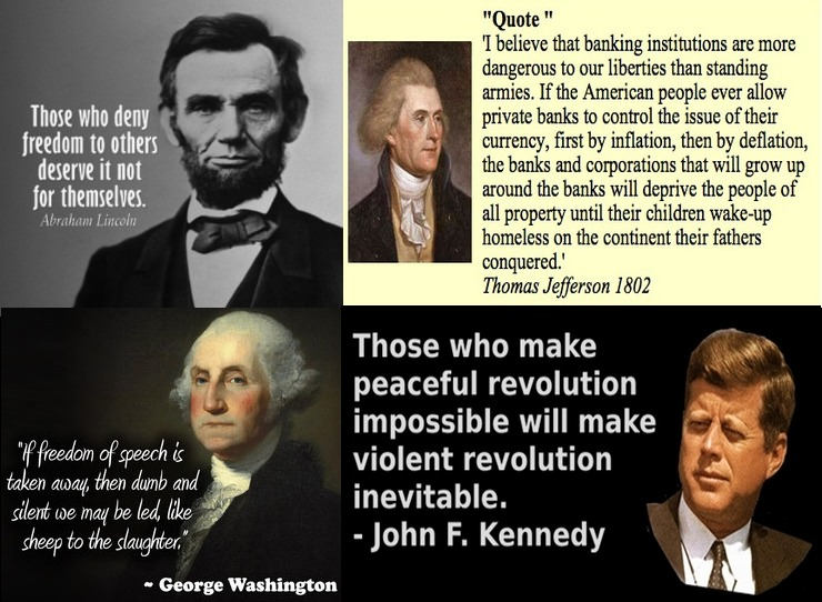 Presidents, Quotes