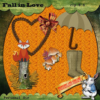 Monday again?  More from Fall In Love freebie