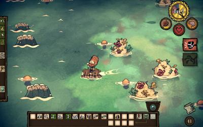 لعبة Don't Starve Shipwrecked للاندرويد مهكرة, تحميل لعبة Don't Starve Shipwrecked apk مهكرة