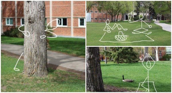 Campus Activities (with Stick People)