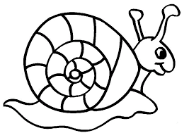 Cute Snails Coloring Pages Animals For Kids