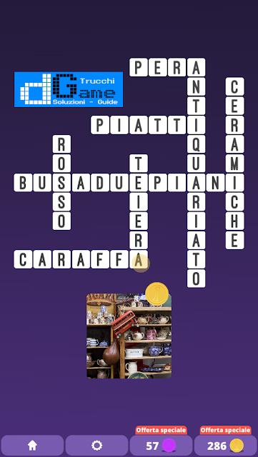 Soluzioni One Clue Crossword livello 20 schemi 3 (Cruciverba illustrato)  | Parole e foto