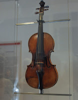 A replica of Paganini's Guarneri  violin is in a Genoa museum