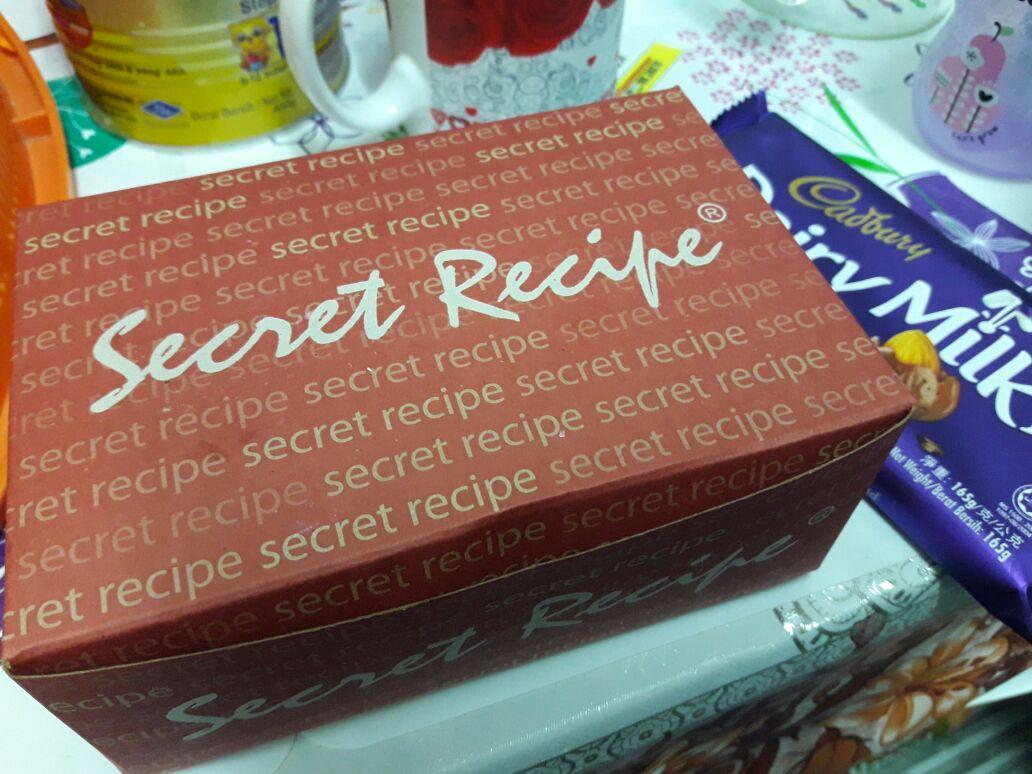 Kek Secret Recipe Surprise Dari Hubby