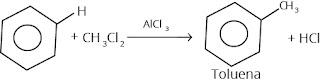 reaksi halogenasi benzena