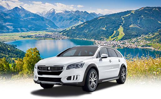 Aluguel de carro na Áustria
