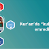 """Kur'an'da """"kulluk etmem emredildi"""" ifadesi"""