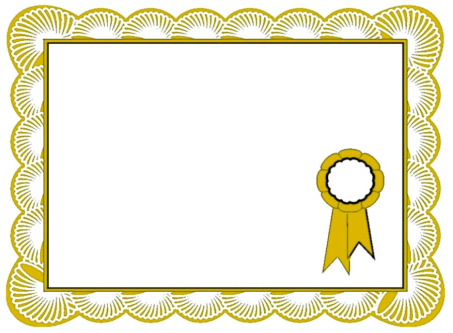certificate border award certificates templates examples borders frame appreciation template frames boarder designs vector printable clipart certificat word diplome hk