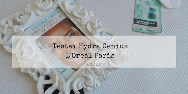 Review Hydra Genius Água de Aloe Vera