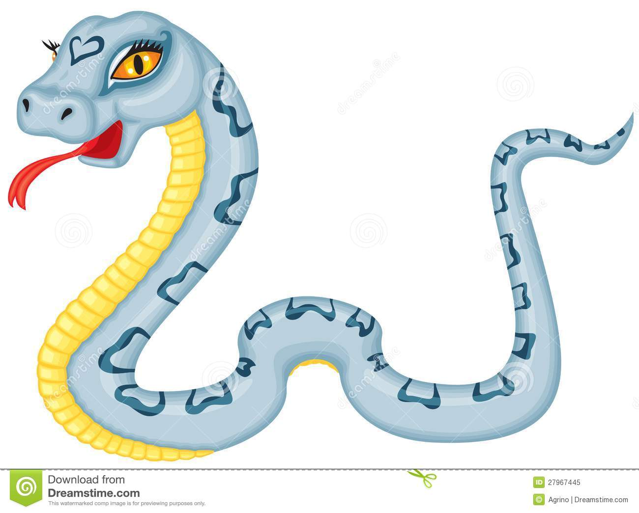 Dessin Serpent Couleur Fonds D écran Hd