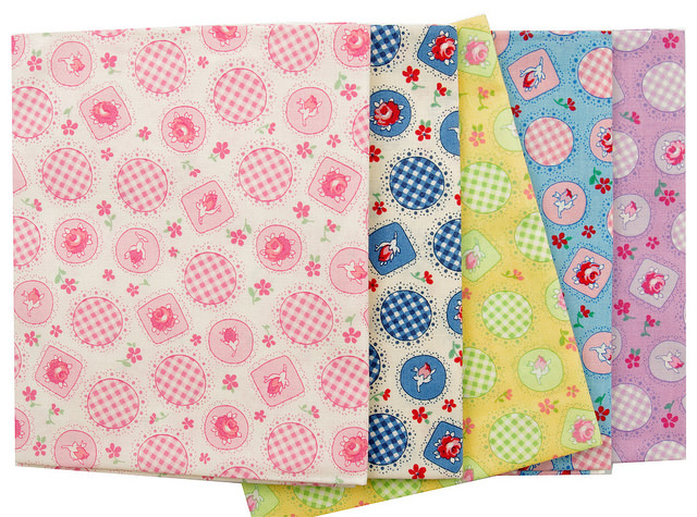 Retro 30's Child Smile for Lecien | Red Pepper Quilts