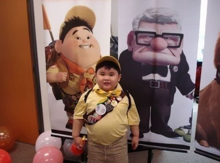 #5 This Scout Kid Looks Like Russel From Up - 10 Real Life Disney Characters