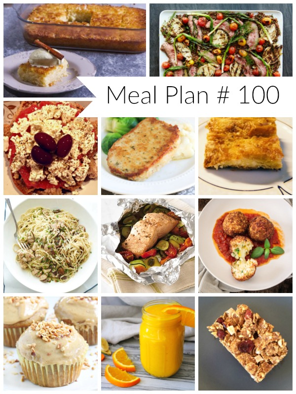 Weekly Meal Plan #100 - Ioanna's Notebook