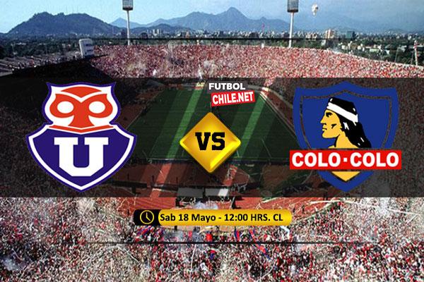 Mira Universidad de Chile vs Colo Colo en vivo y online por la Primera División