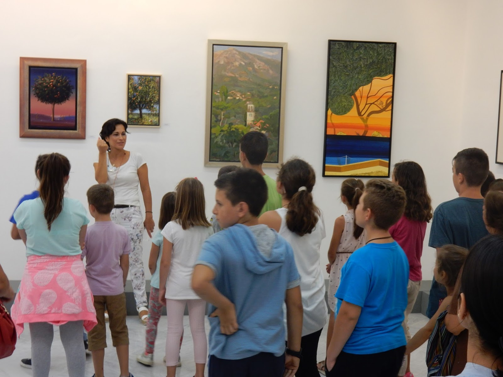 Ξεκίνησαν τα ανοιχτά εκπαιδευτικά προγράμματα για τους μικρούς επισκέπτες της Δημοτικής Πινακοθήκης Λάρισας (ΦΩΤΟ)