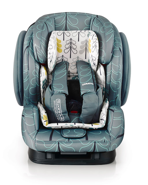 hug isofix, cosatto hug, cosatto car seat, colourful car seat, car seat giveaway