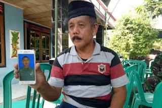 Suraidi : Saya Ikhlas, karena Putra Saya Gugur demi Negara!