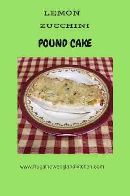 Lemon Zucchini Pound Cake