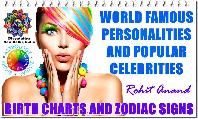 World Celebrity Astro Databank Star Signs, Astrology & Horoscope Readings