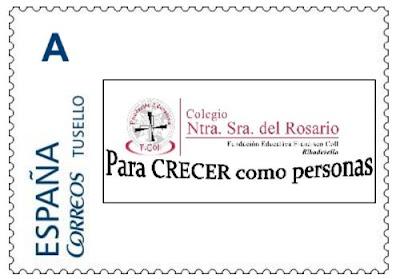 Sello personalizado Colegio Nuestra Señora del Rosario
