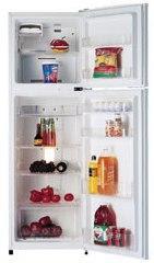 Foto de una refrigeradora abierta
