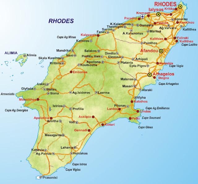Regiões de Rodes