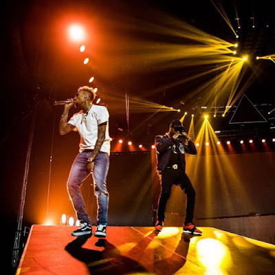 VIDEO: Chris Brown X Wizkid – African Bad Girl (Performance)
