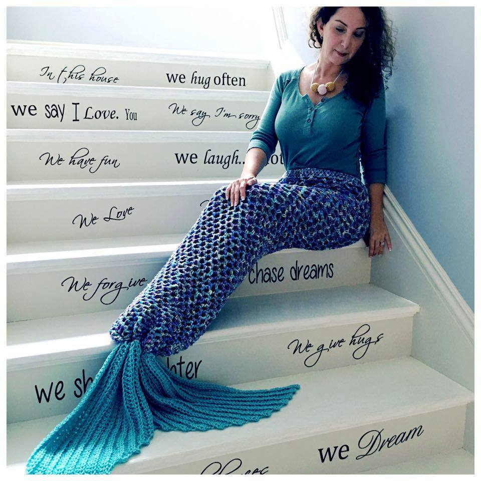 Mermaid Fantasy Blanket Free Crochet Pattern in Red Heart Yarns ... | 960x960