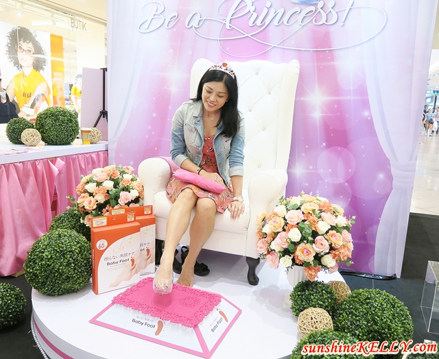 Be A Princess SASA x Baby Foot Beauty Fair