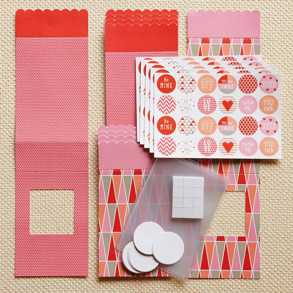 Cut Above™ Valentine Treat Bag Kit  Item Number: Z2056