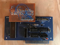 APIO card connected to PAL interface circuit board