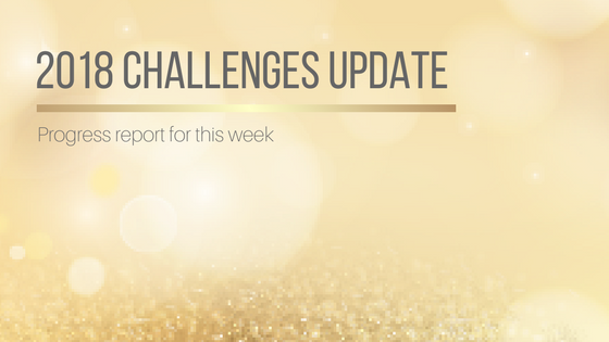 2018 Challenges Update: Week 2