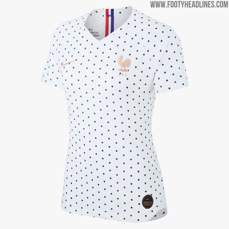 buy popular 6c547 07e78 France 2019 Women's World Cup Away Kit Revealed - Footy ...