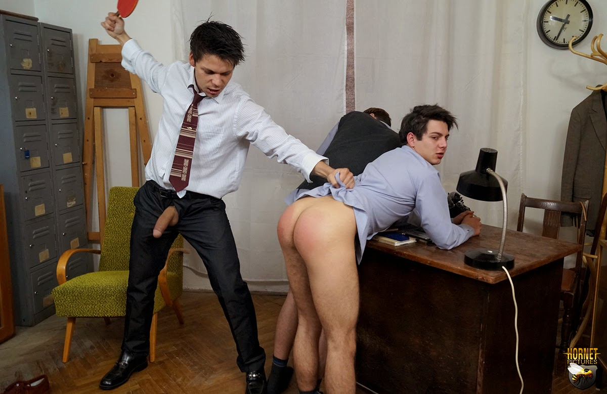 spanked by master