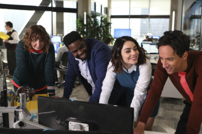 "Review of the TV show, ""Powerless."""