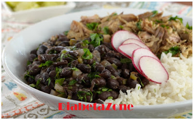 Cuban Black Beans for Diabetics