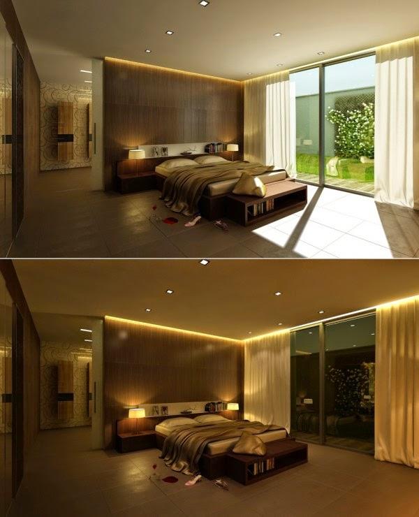 تصاميم لغرف نوم أنيقة مع تفاصيل إبداعية جميلة