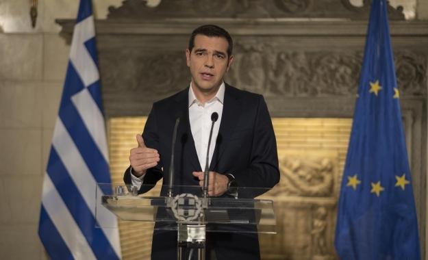 Ο Αλέξης Τσίπρας ανακοίνωσε το νέο όνομα, «μακεδονική» γλώσσα και υπηκοότητα