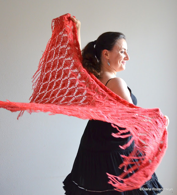 Sunny with a chance of knitting i am excited to introduce to you my fourth and final for now design in the series of shawls for friends fire spirit pattern can be found on ravelry fandeluxe Gallery