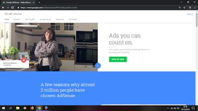 cara daftar adsense dengan domain TLD