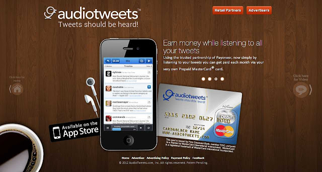 How-To Listen Your Tweets Instantly on a Drive or Work, Get paid too
