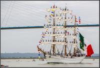 Liste des bateaux et grands voiliers attendus pour l'Armada de Rouen du 6 au 16 juin 2019